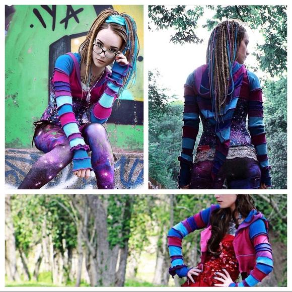 Andrea Durham Designs Jackets & Blazers - CUSTOM SWEATER COAT, PATCHWORK look book